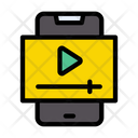 Mobile Video Player Icon