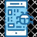 Mobile Phone Virus Icon