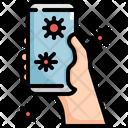 Phone Virus Mobile Icon