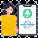 Mobile Recorder Voice Recorder Phone Recorder Icon