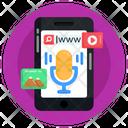 Recorder App Mobile Recorder Mobile Voice Search Icon