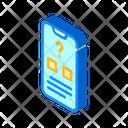 Electronic Voting Isometric Icon