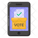 Electronic Vote Online Voting Online Ballot Icon