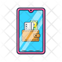 Mobile Wallet Phone Icon