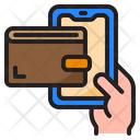 Mobile Wallet Smartphone Wallet Icon