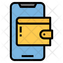 Mobile Wallet Online Wallet Money Icon