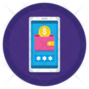 Mobile Wallet Security Icon