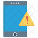 Warning Mobile Phone Icon