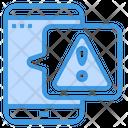 Mobile Warning Mobile Alert Mobile Icon