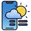 Mobile Weather Weather Mobile Icon