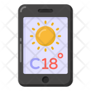 Mobile Weather App Icon