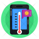 Mobile Weather Forecast Mobile Weather App Weather Overcast Icon