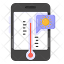Mobile Weather Forecast Icon