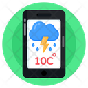 Mobile Weather Forecast Weather App Weather Overcast Icon