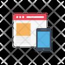 Web Development Mobile Icon