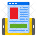 Website Webpage Mobilephone Icon