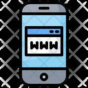 Mobile Website Icon