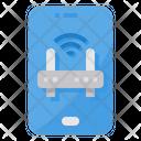 Wifi Smartphone Router Icon