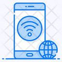 Mobile Wifi Internet Connection Connected Mobile Icon
