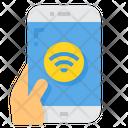 Wifi Social Network Smartphone Icon