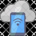 Mobile Internet Mobile Wifi Wireless Network Icon
