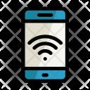Laptop Wi Fi Mobile Icon