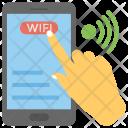 Wifi Settings Mobile Icon