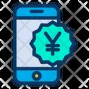 Mobile Yen Icon