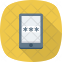 Mobileinternet Mobilepassword Mobilesecurity Icon