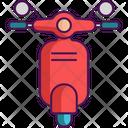 Mobility Flexible Biking Icon