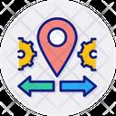 Mobility Flexibility Location Icon