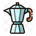 Mocha Pot Coffee Icon