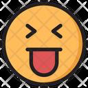 Mocking Emoji Expression Icon
