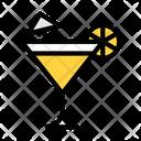 Mocktail Juice Glass Icon