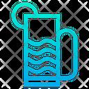 Drink Strow Glass Icon