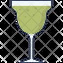 Mocktail Glass Herbal Juice Juice Glass Icon