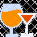Mocktail Glass Juice Glass Juice Icon