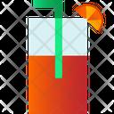 Mocktail Glass Icon