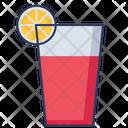 Mocktail Glass Juice Glass Glass Icon