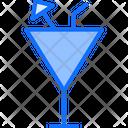 Mocktails Juice Glass Glass Icon