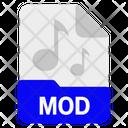 Mod File Format Icon