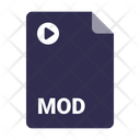 Mod File Document Icon