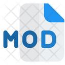 Mod File Audio File Audio Format Icon