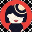 Hat Woman Model Icon