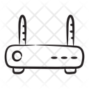Modem Router Network Hub Icon