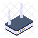 Internet Service Wireless Wifi Router Access Router Icon