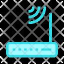 Modem Device Wireless Icon