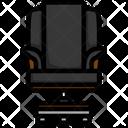 Modern Chair Armchair Icon