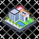 Modern Apartment Icon