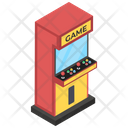 Modern Arcade Game Indoor Game Coin Game Icon